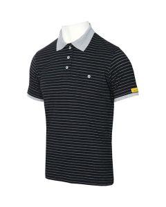 HB SCHUTZBEKLEIDUNG WL28302. Conductex PS70-SG-S-000 - ESD-Damen-Poloshirt, schwarz, S