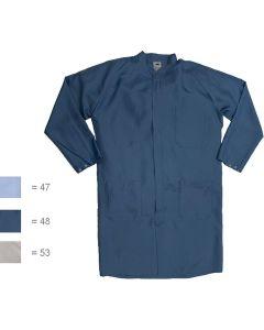 HB SCHUTZBEKLEIDUNG WL33327. Habetex Climatic HM-BL - Reinraum-Herrenmantel, blau, 54-56