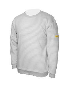 HB SCHUTZBEKLEIDUNG WL34372. Conductex SS-SG-XL - ESD Sweatshirt, grau, XL