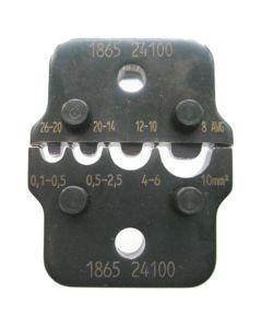 Klauke Q501. Crimpeinsatz-Set Q 50
