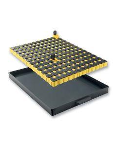 SMD-Schubfach mit Chip-Containern Licefa 144 SMD-Boxen, N1 DISS-4-10