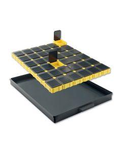 SMD-Schubfach mit Chip-Containern Licefa 36 SMD-Boxen, N3 DISS-4-10