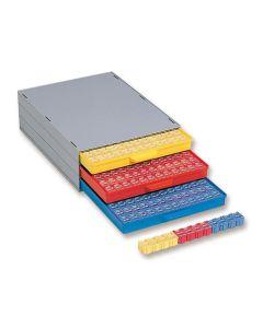 SMD-Schrank Licefa A 1-4 Bunt 144 mit 144 SMD-Boxen, komplett