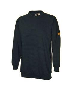 ESD Sweat-Shirt schwarz 300 gr/m2