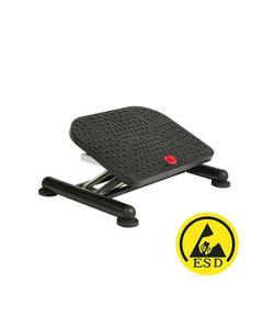 ESD-Fußstütze/Fußauflage EFS 90 ESD mit Gasfeder, rutschfest, stufenlos höhenverstellbar