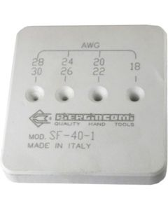 PIERGIACOMI SF 40/1. Abisolier-Werkzeug AWG 30-18