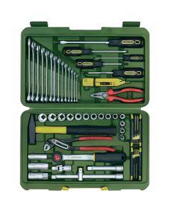 Proxxon 23650. PKW- und Universalwerkzeugkoffer, 47-teilig