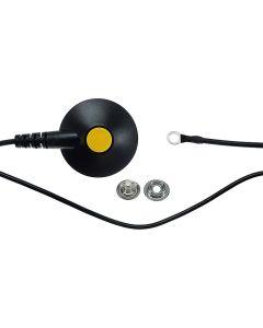SAFEGUARD WL24941. SAFEGUARD ESD - Erdungskabel, L = 4,5 m, schwarz