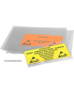 SAFEGUARD WL30342. SafeGuard ESD - ESD-Laminierfolie, transparent, transparent