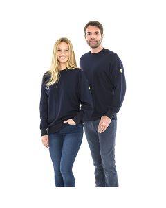 SAFEGUARD WL43771. SafeGuard ESD - ESD-Sweatshirt, rundhals, unisex, blau, 5XL