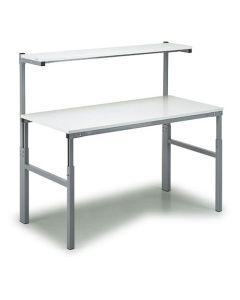 ESD-Arbeitstisch Treston TPH918 ESD 900x1800 mm, grau