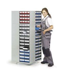 Drehständer Treston 16-300 (leer) für Schubladenmagazine 700x700x1680 mm