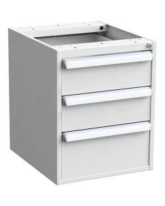 Treston 60649107. ESD-Schubladenblock 45/56-7 Standard, 100 % Auszug