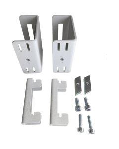 Treston AS2. Adapter-Set für MH/MA/MA2 an Rasterrohren und C-Profilen