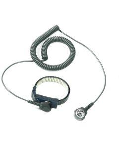 Treston R2206. Edelstahl-Armband ESD inkl. Spiralkabel