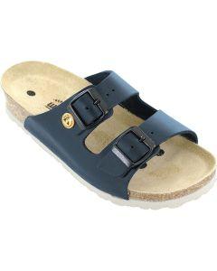 VITAFORM 3570/BLAU/38 SOHLE WEISS. 3570-21-38 - ESD-Sandalen 3570, 38, blau, Vollrindleder, Pantolette