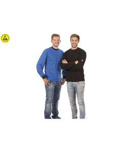 WARMBIER 2649.T.XXXL. ESD-Sweatshirt, XXXL, schwarz