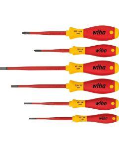Wiha 35389. Schraubendreher Set SoftFinish® electric slimFix