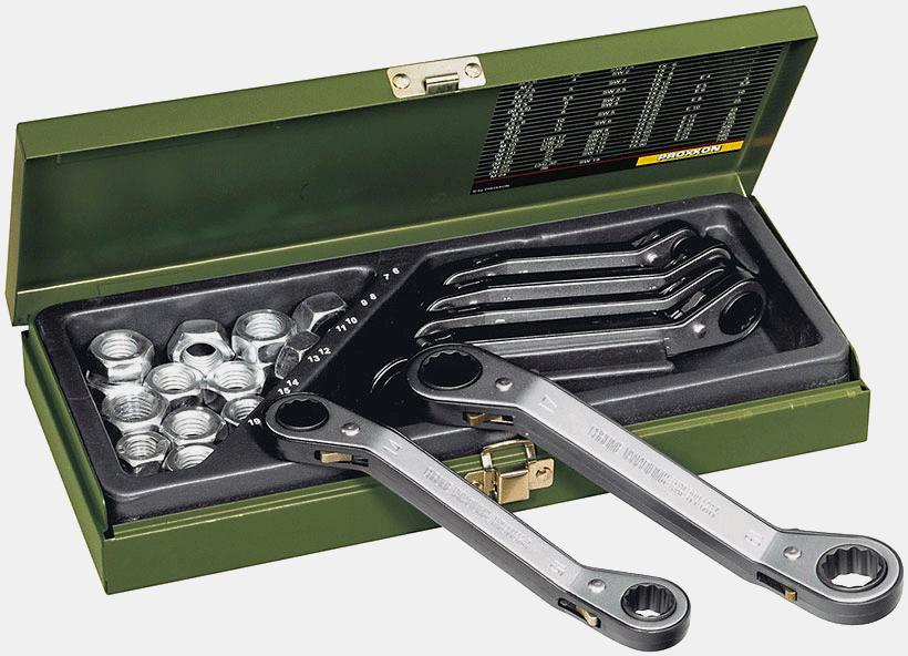 PROXXON SPEEDER-Ratschenschlüssel 17 x 19 mm No 23215