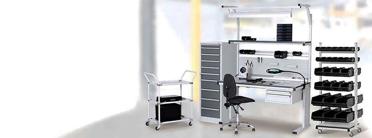 Antistatische Möbel und ESD Ausrüstung